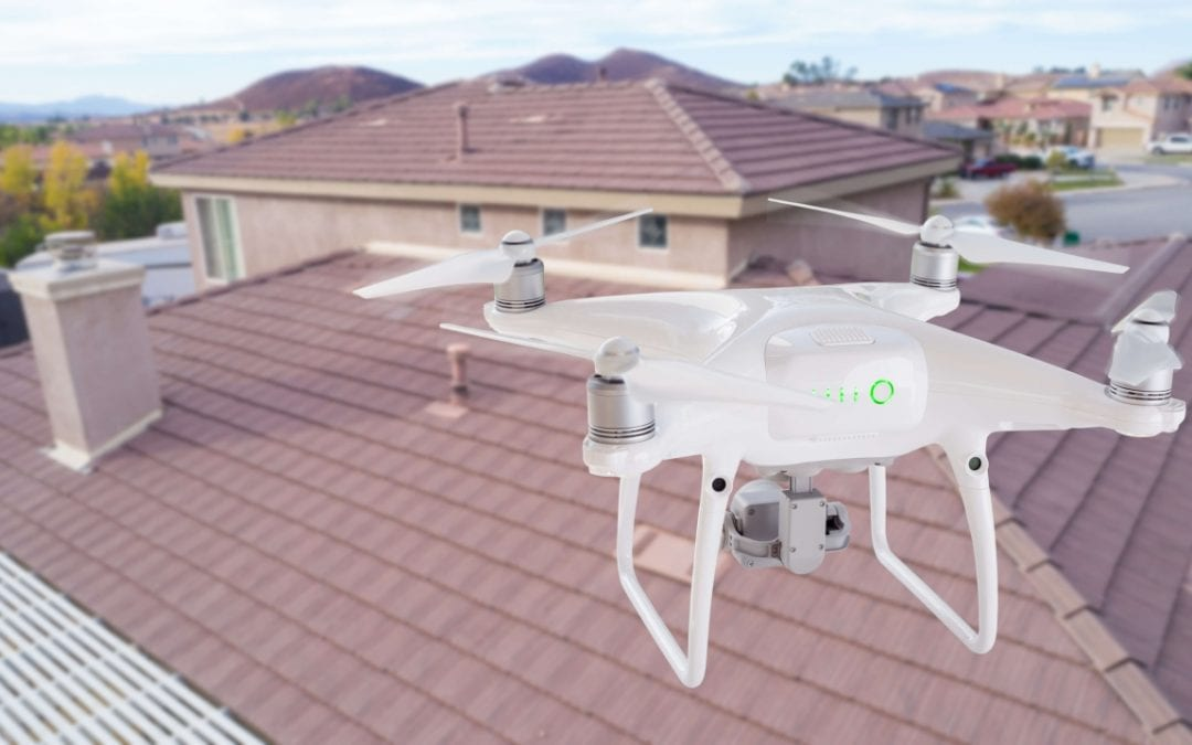 drones in home inspections allow for examination of any types of roof features